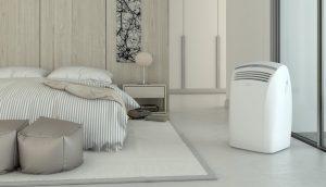 Aire Acondicionado Portátil en una Habitación